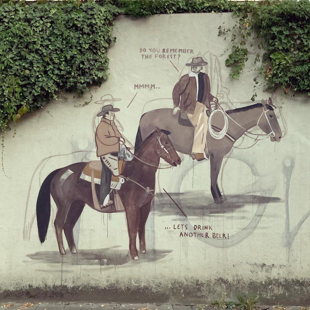 Artwork By Escif in Munich (Politics)