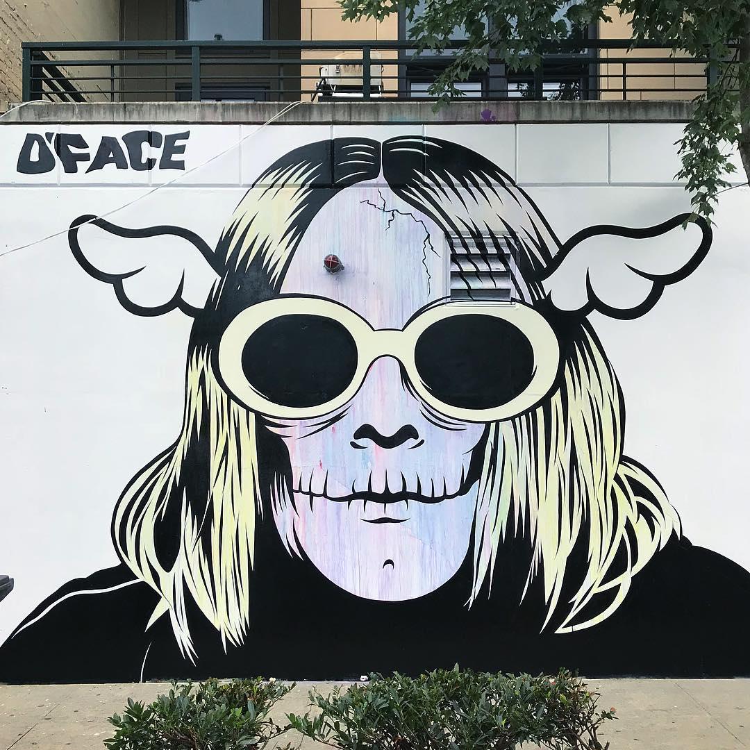 Œuvre Par D*face à Seattle