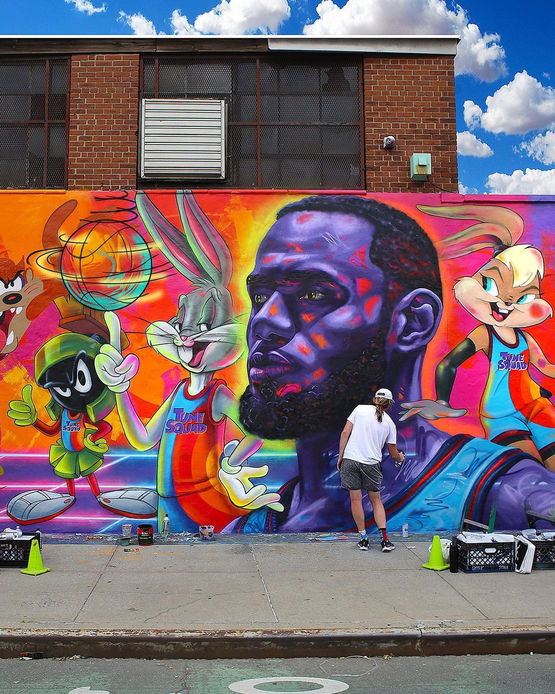 Artwork By Madsteez in New York City (Portrait)