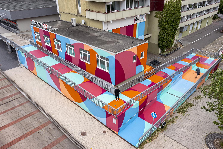 Artwork By Boa Mistura in Halle (Abstract, Graffiti)