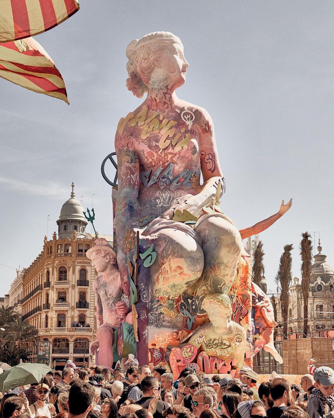 Œuvre Par PichiAvo à Valence