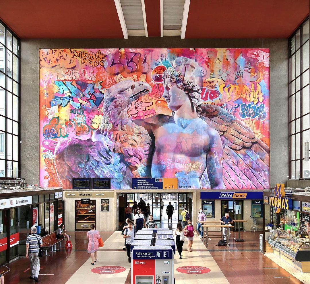 Artwork By PichiAvo in Heidelberg