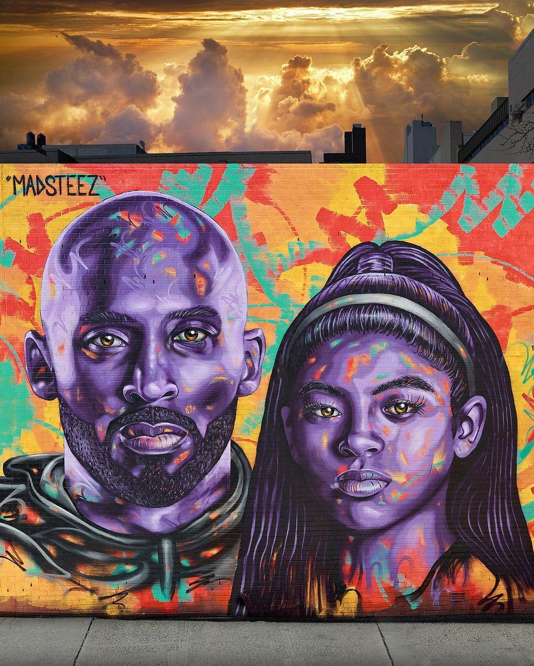 Artwork By Madsteez in New York City (Spray, Portrait)