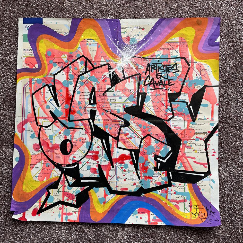 Artwork By Nasty in Paris