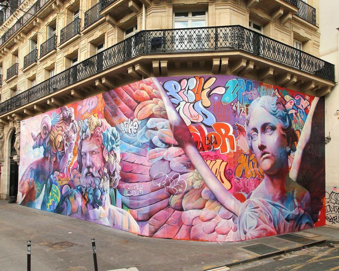 Artwork By PichiAvo in Paris