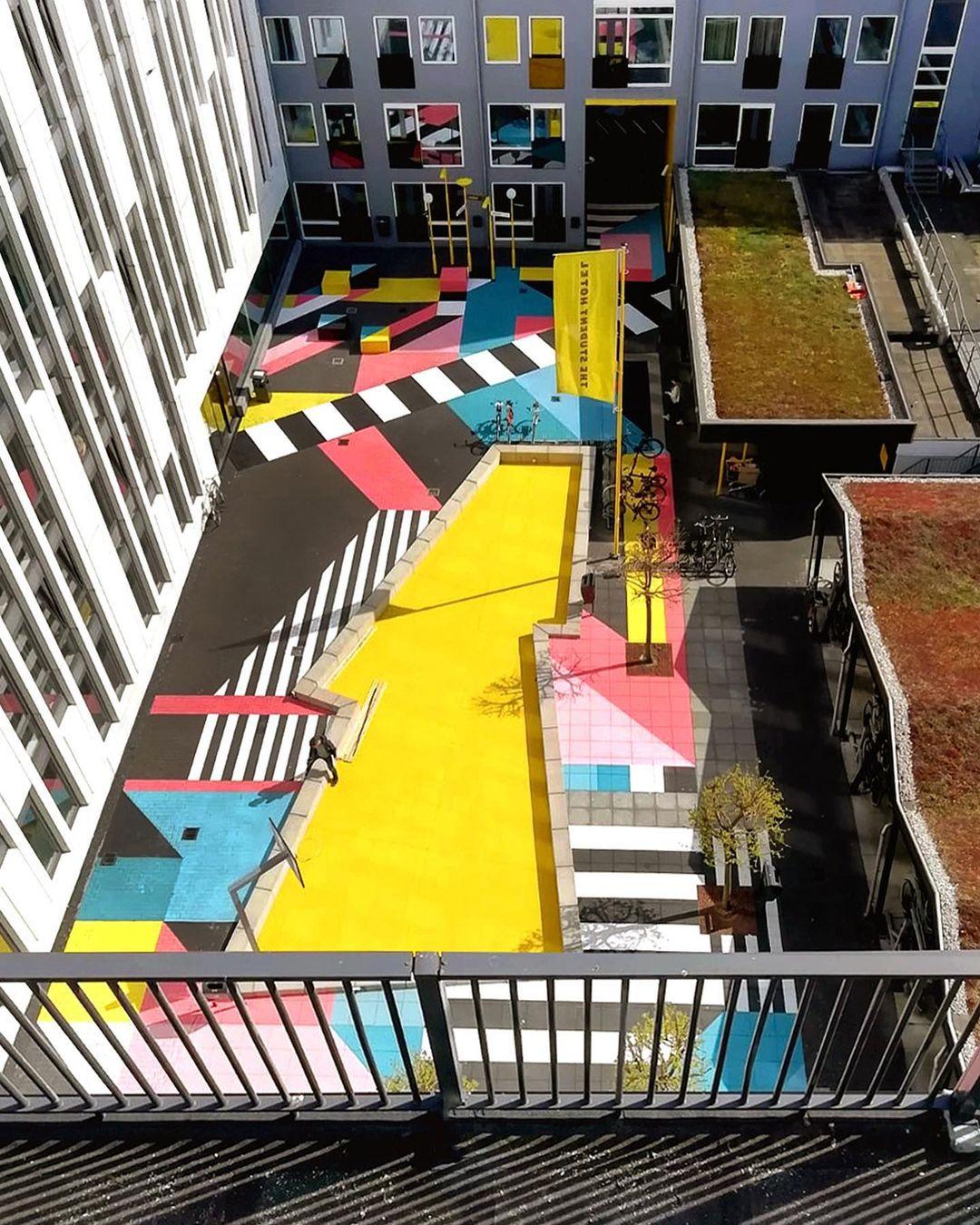 Artwork By Anna Taratiel in The Hague