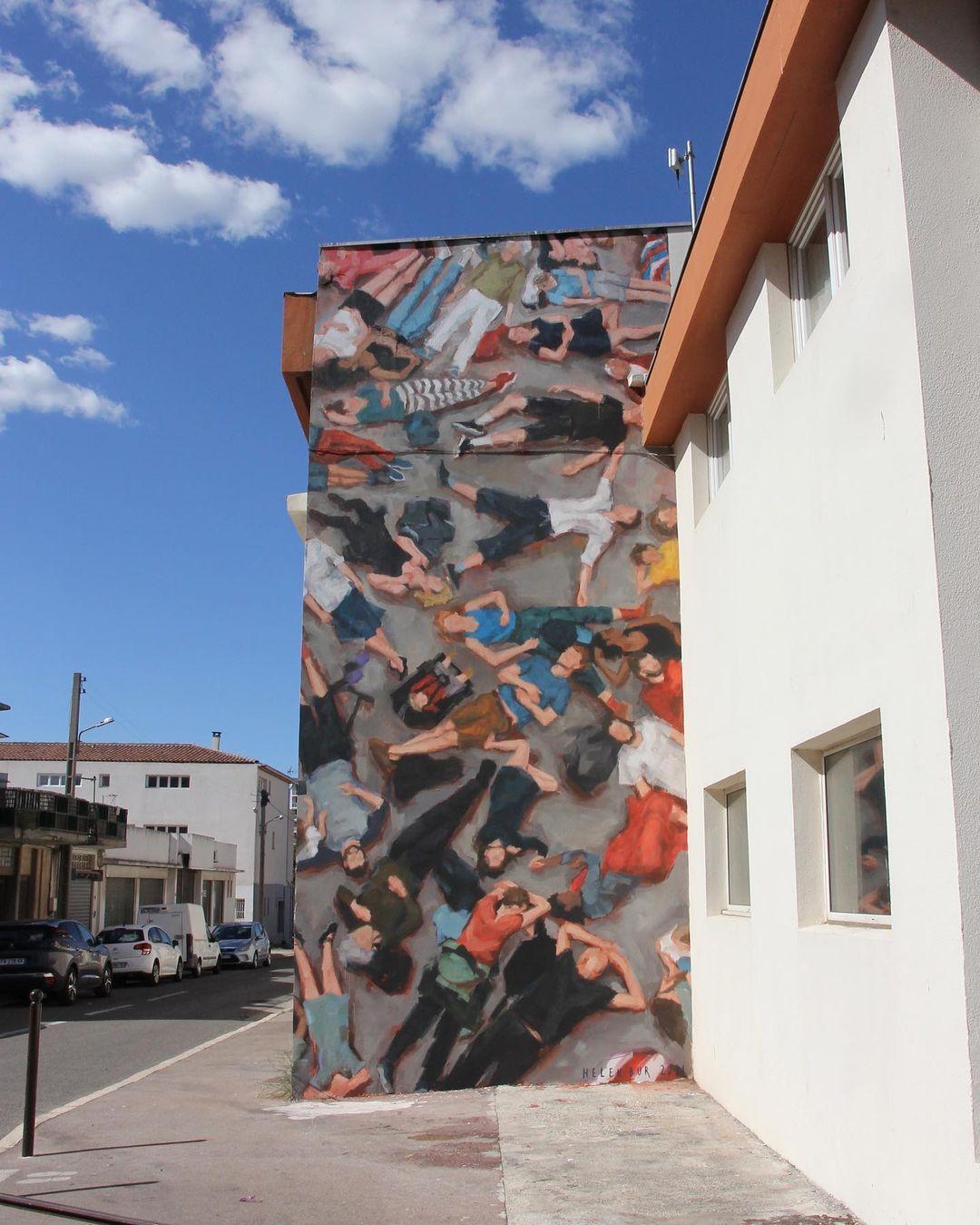 Œuvre Par Helen Bur à Port-de-Bouc