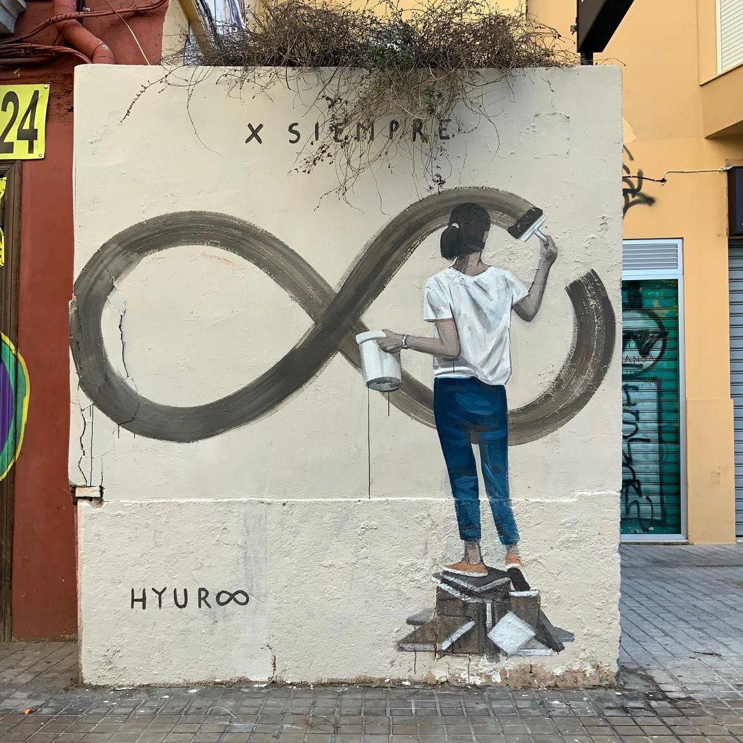 Artwork By Escif in Valencia