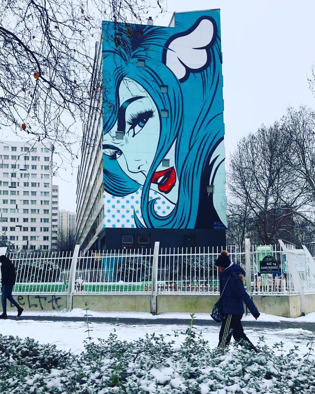 Artwork By D*face in Paris