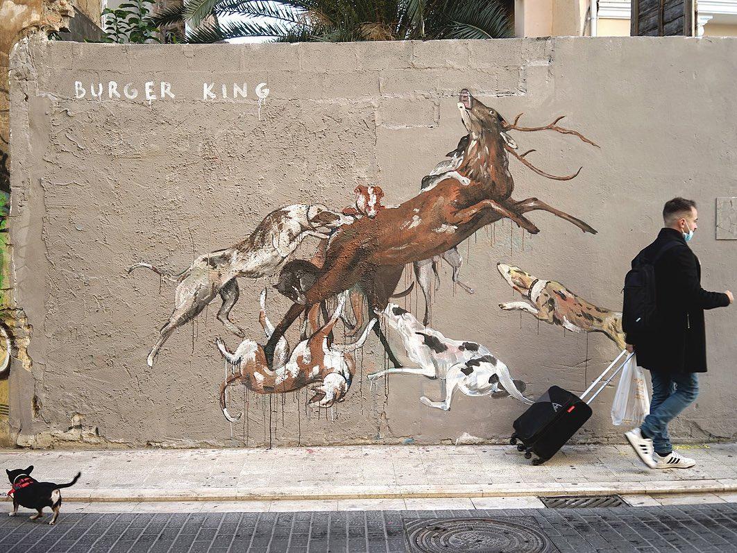 Artwork By Escif in Valencia (Nature)