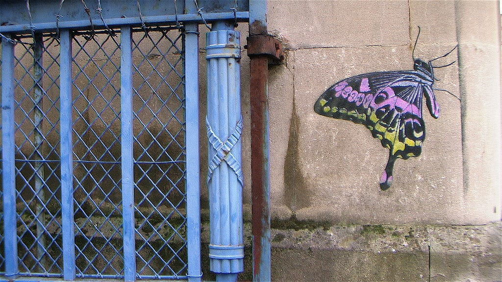 Artwork By Nick Walker in Bristol