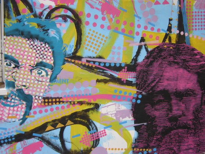 Œuvre Par Cabaio Stencil à Buenos Aires