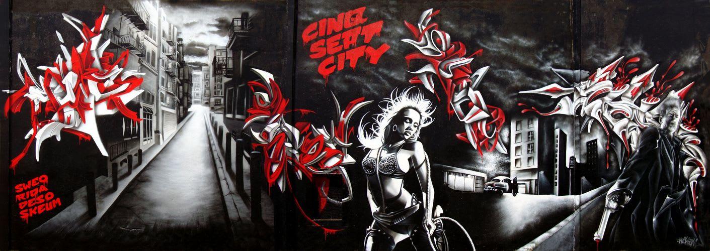 Artwork By DESO in Montpellier