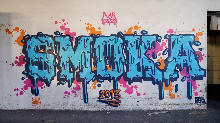 Œuvre Par SMOKA à Champs-sur-Marne