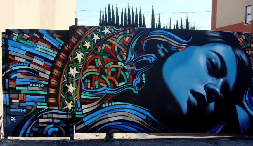 Œuvre  à Los Angeles