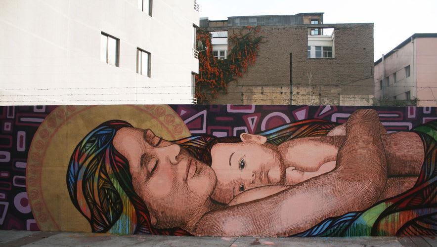 Œuvre Par Henruz à Santiago