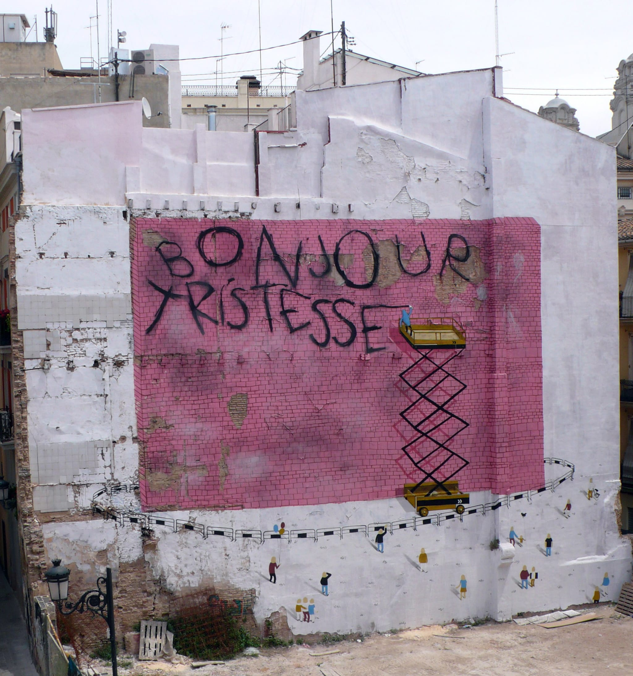 Œuvre Par Escif à Valence