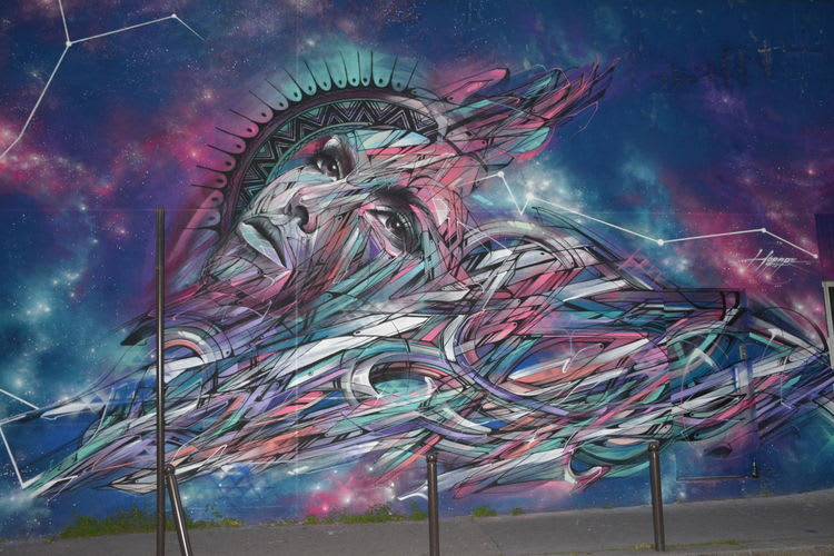 Artwork By Hopare in Paris