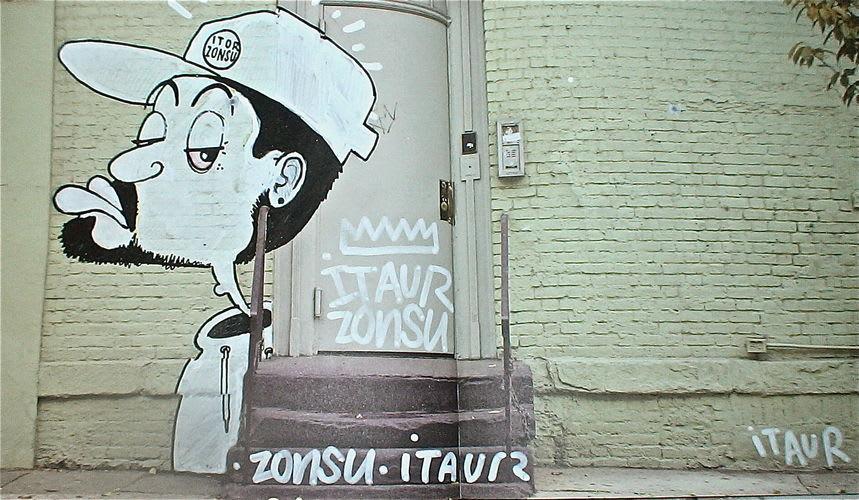 Artwork By DEL in Brussels