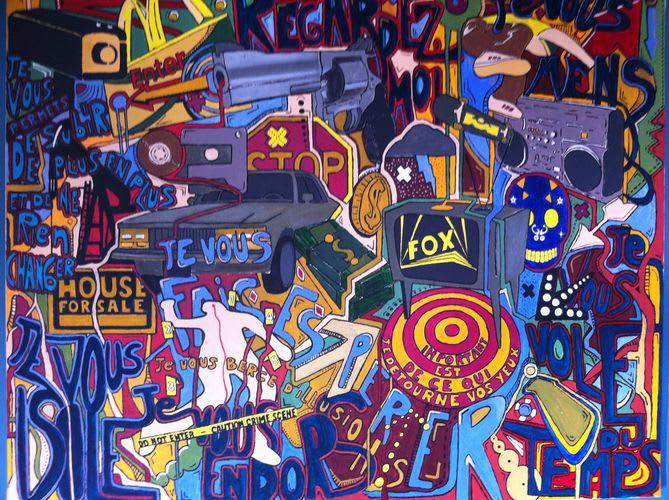 Œuvre Par NICOLAS CLEZIO à L'Hermitage