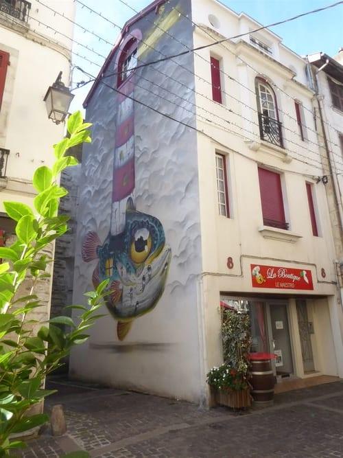 Œuvre Par Veks Van Hillik à Bayonne