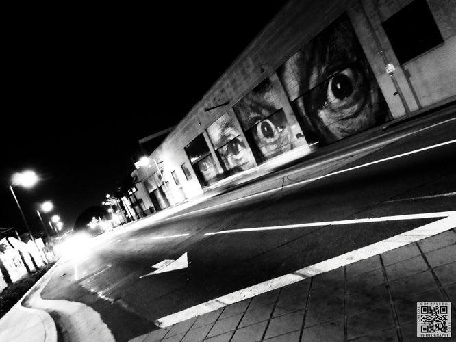 Artwork By JR in Los Angeles