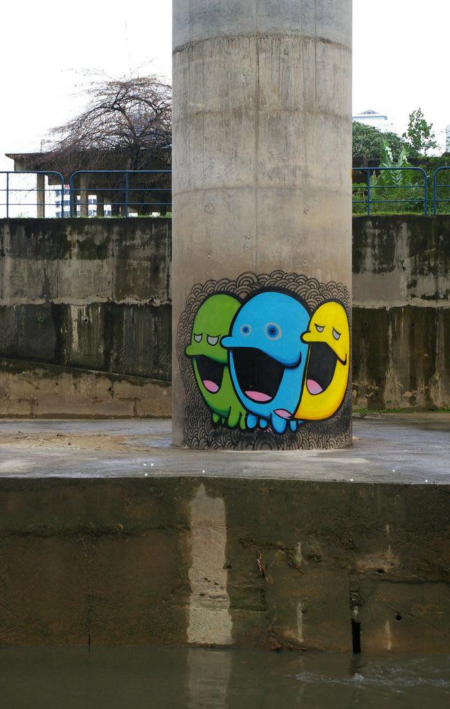 Œuvre Par VLT Crew à Kuala Lumpur