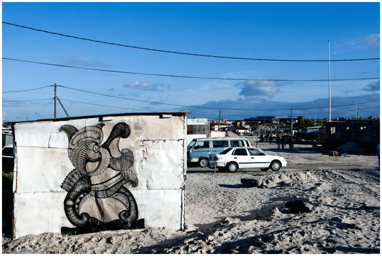 Artwork By Yuma Yoshimura in Cape Town