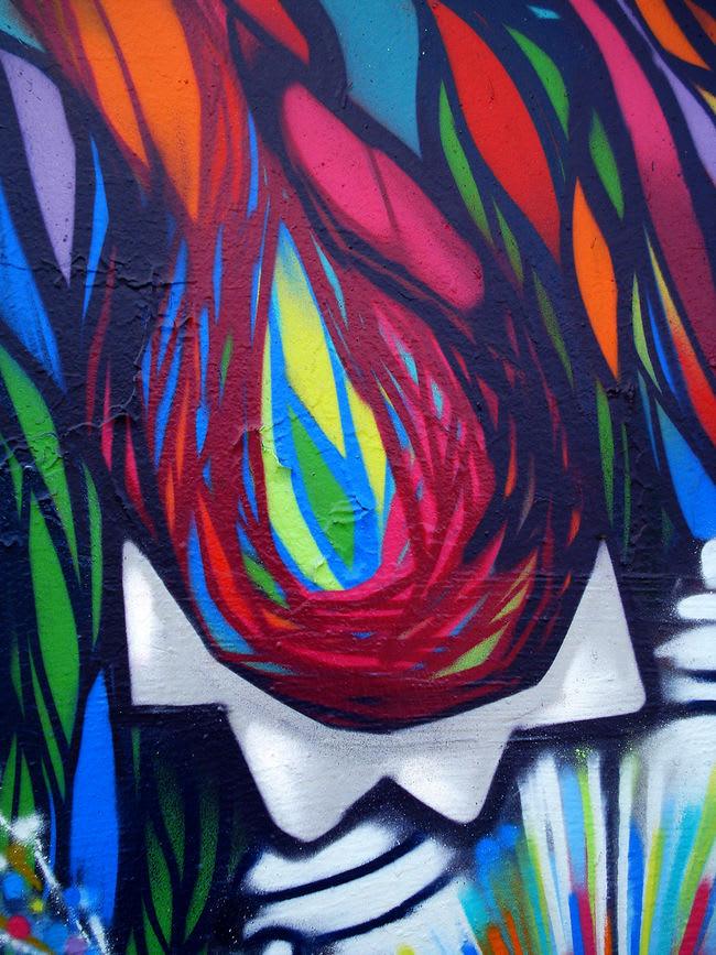 Artwork By deLaraíz1 in Santiago