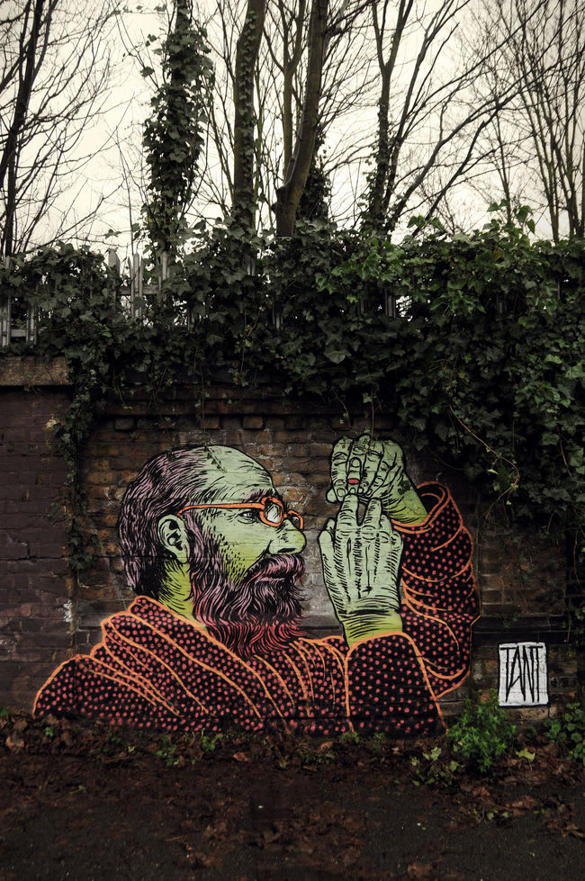 Artwork By Tant in London