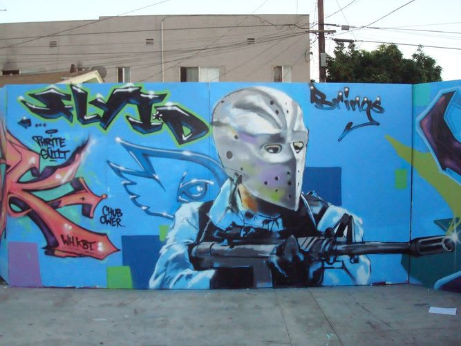 Œuvre  à Compton