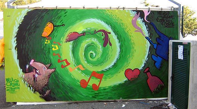 Œuvre  à Porto Valtravaglia