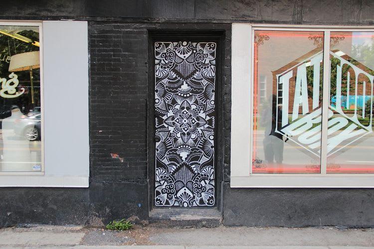 Œuvre  à Montréal