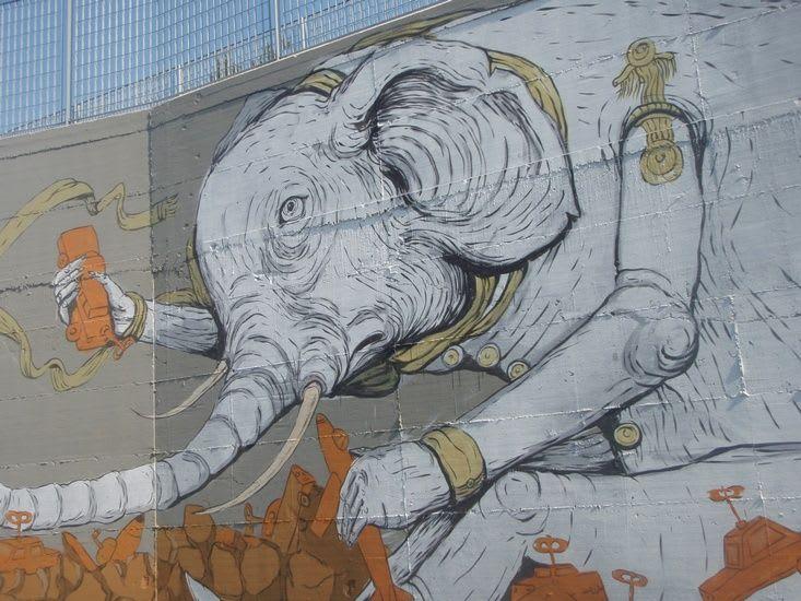 Artwork  in Pisa