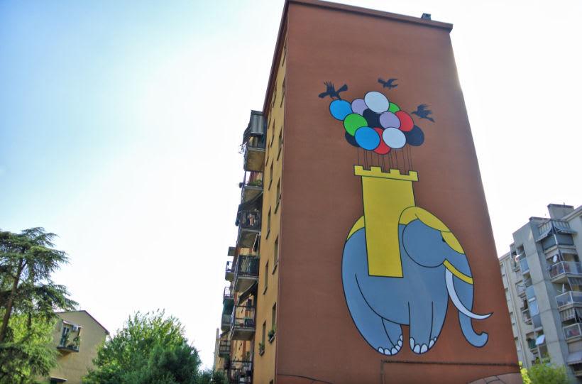 Œuvre  à Bologne