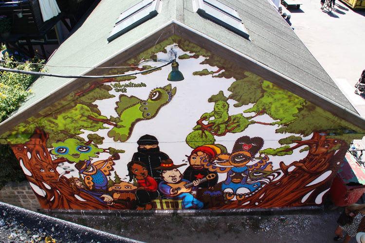 Artwork By Phil in Copenhagen