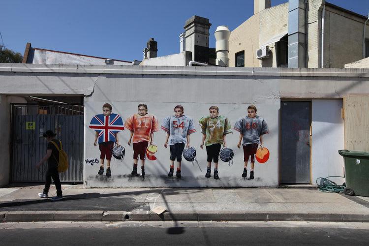 Œuvre Par Fintan Magee à Sydney