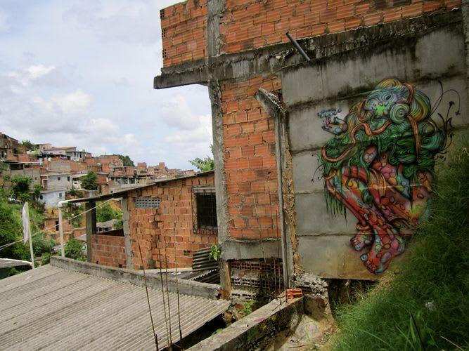 Œuvre Par Calangos à Salvador