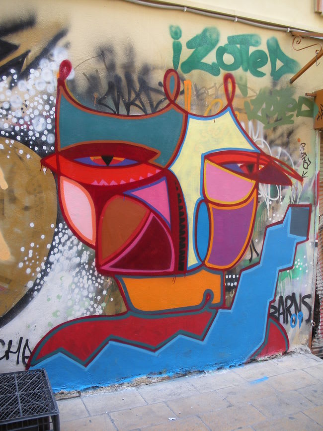 Artwork  in Athens