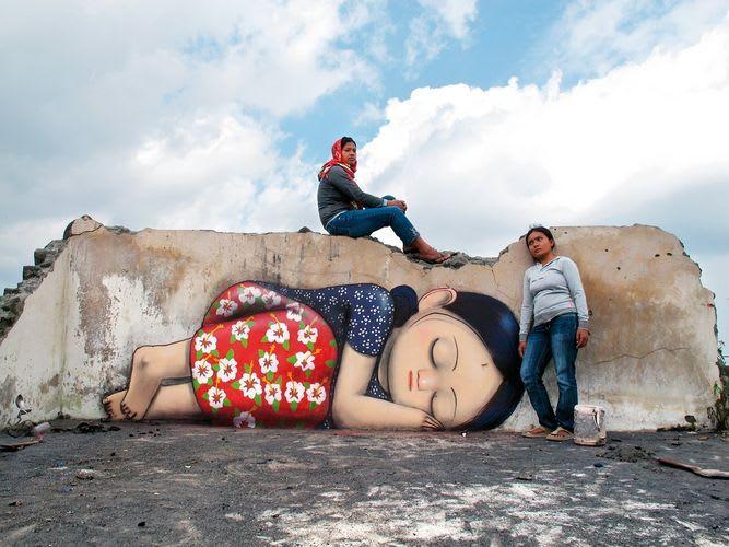 Œuvre Par Julien Seth Mailland à Lahat