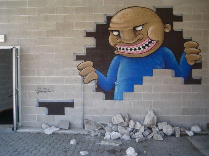 Artwork  in Gemona del Friuli