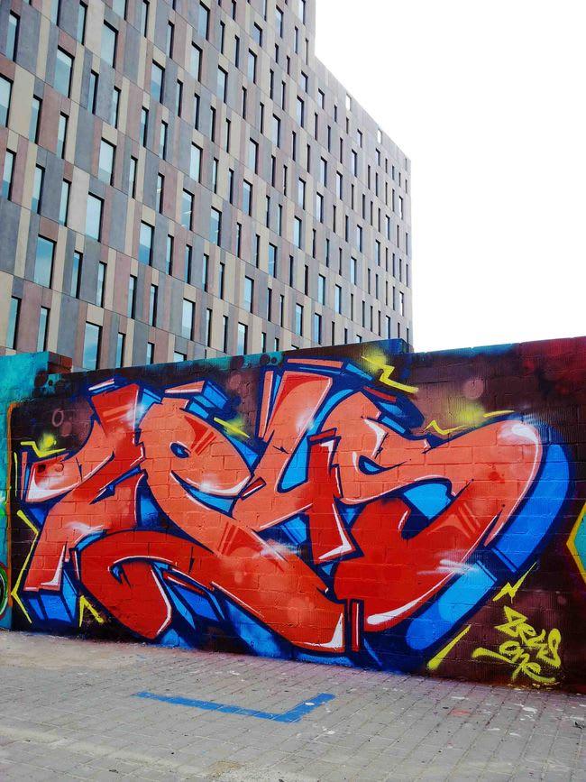 Œuvre Par zeus à Barcelone
