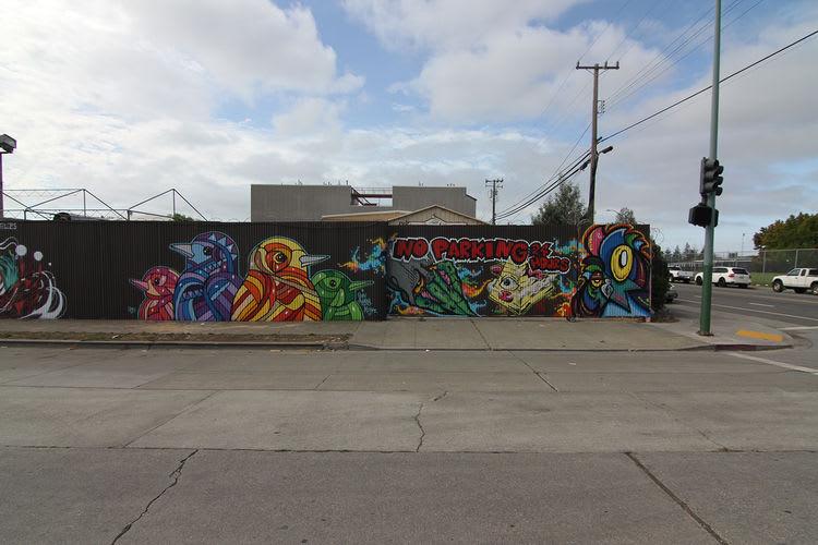 Œuvre Par aware à Oakland