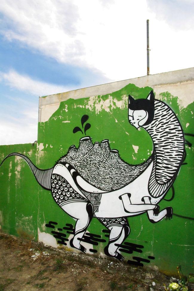 Artwork By Goddog in Avignon