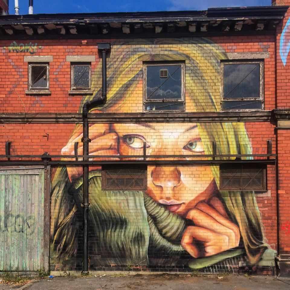 Artwork By Irony in Liverpool