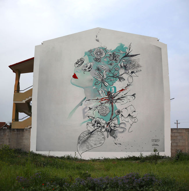Artwork By Manu   Invisible in Milan