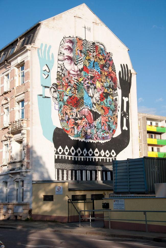 Œuvre Par Saddo à Dresden
