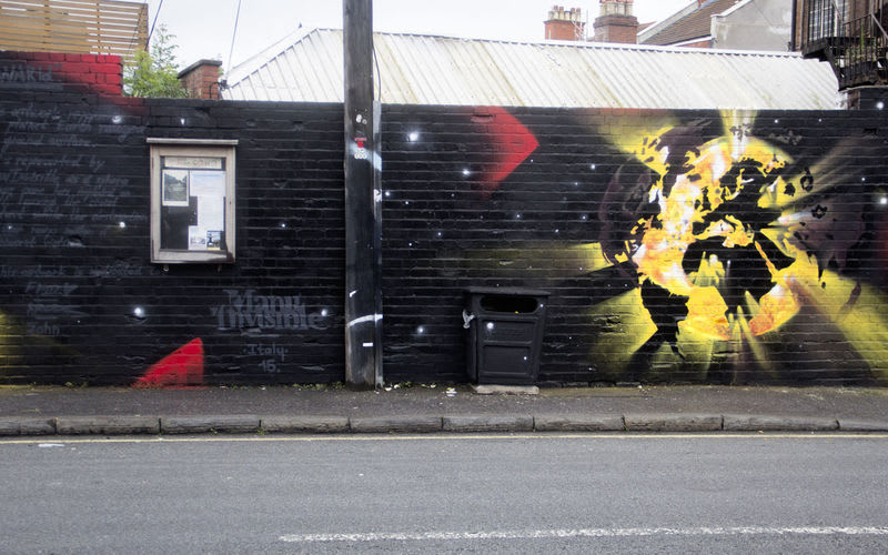 Artwork By Manu   Invisible in London