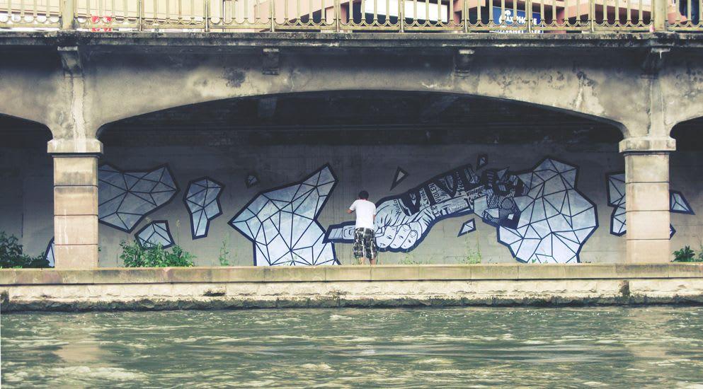 Œuvre Par Chifumi à Strasbourg