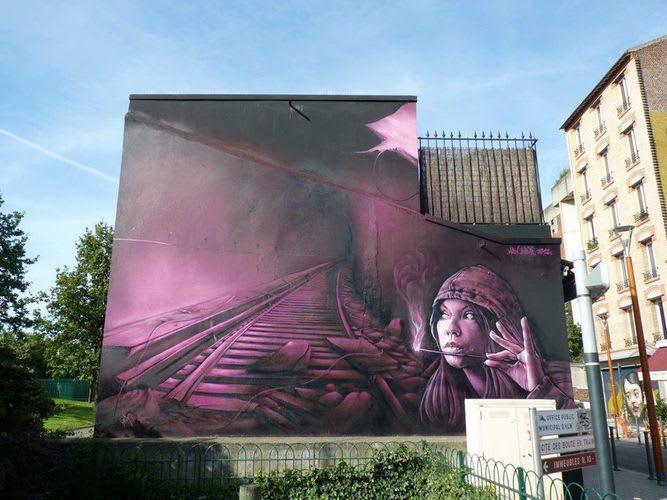 Artwork By Seyb in Saint-Denis